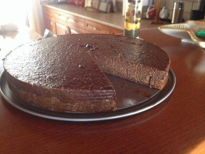 τούρτα-χωρίς-ζάχαρη-με-γεύση-καριόκα