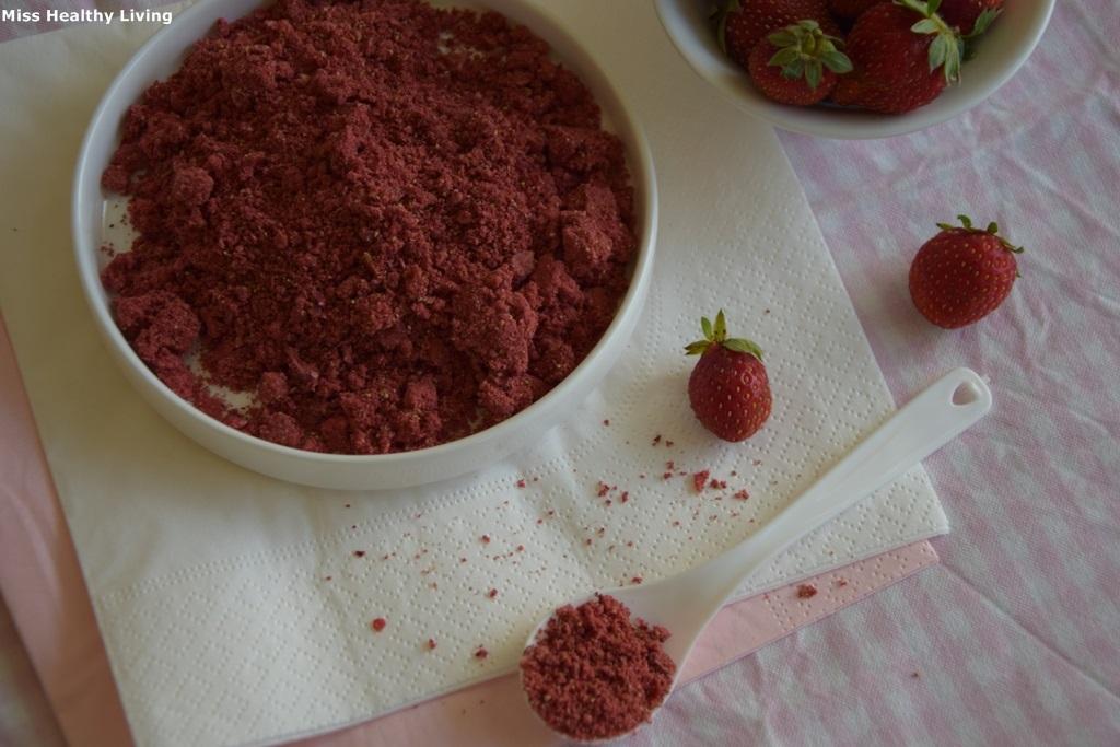 αποξηραμένη φράουλα 1