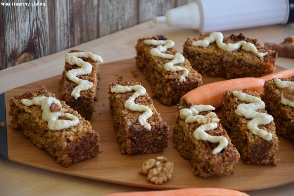 μπάρες carrot cake 1