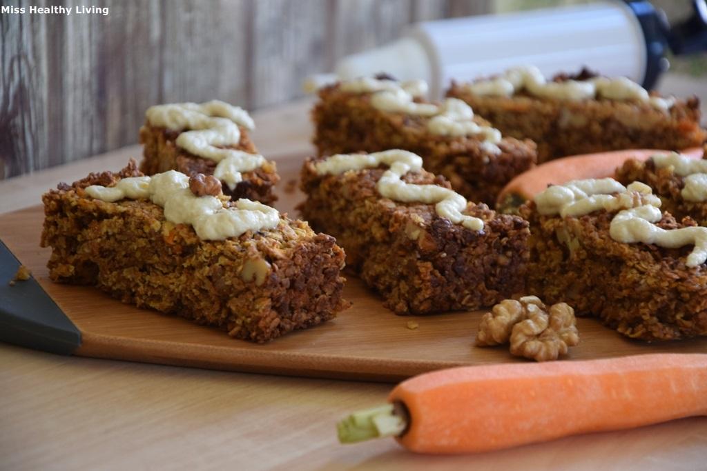 μπάρες carrot cake 3