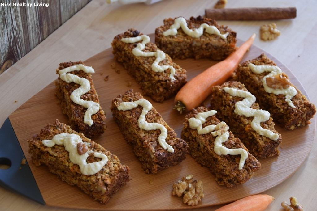 μπάρες carrot cake 4
