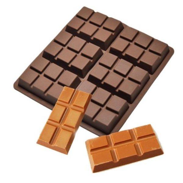 φόρμα-σιλικόνης-σε-σχήμα-σοκολάτας