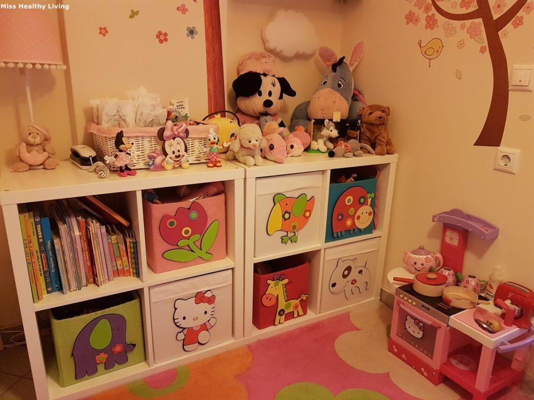 αποθηκευτικός-χώρος-στο-παιδικό-δωμάτιο-από-κούτες