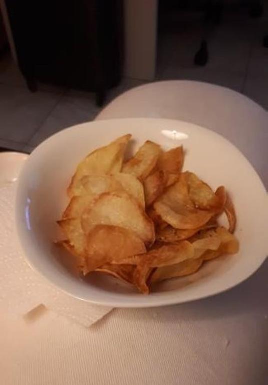 πατατάκια φούρνου