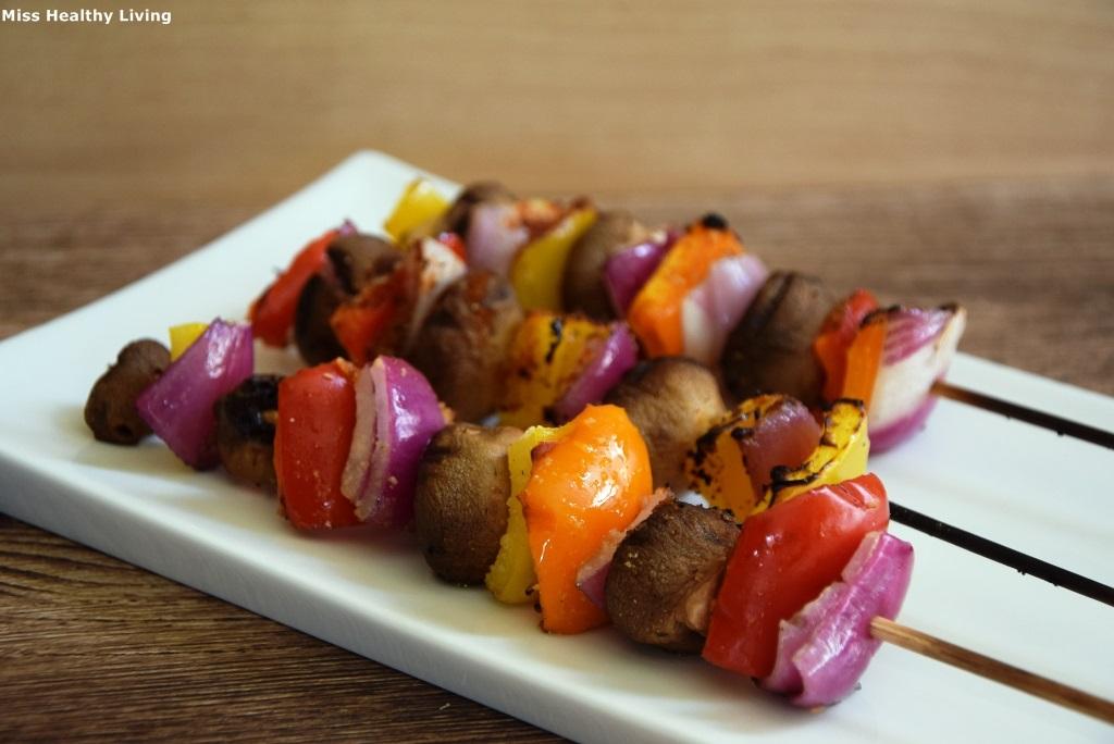 σουβλάκια-μανιταριών-με-πιπεριές