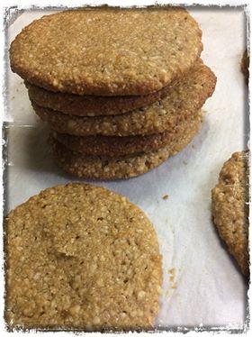 μπισκότα-αμυγδάλου