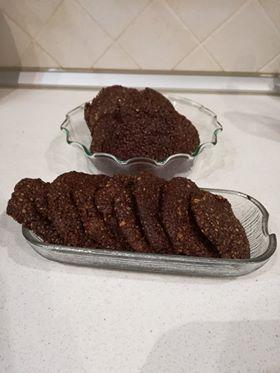 μαλακά μπισκότα σοκολάτας