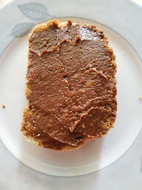 πραλίνα φουντουκιού χωρίς ζάχαρη