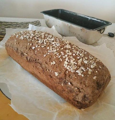 ψωμί του τοστ ολικής