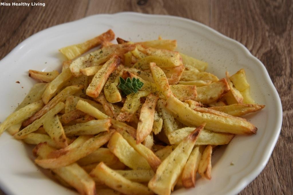 πατάτες τηγανητές σε φριτέζα αέρος