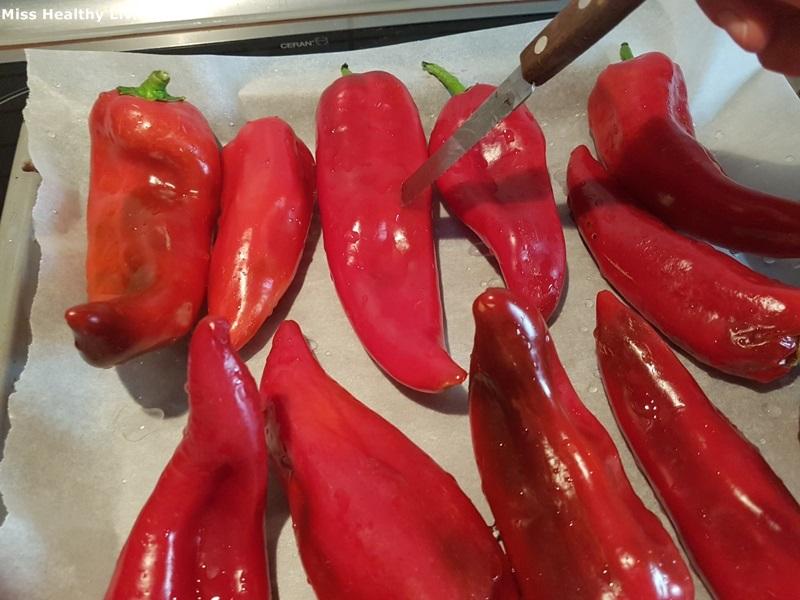 πιπεριές Φλωρίνης ψητές