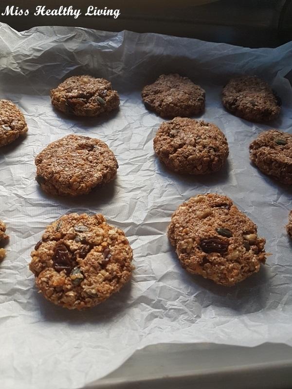 Μπισκότα με βρώμη και κολοκύθα