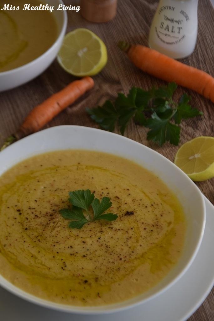 ψαρόπουπα βελουτέ μεμπακαλιάρο, πατάτα και καρότο