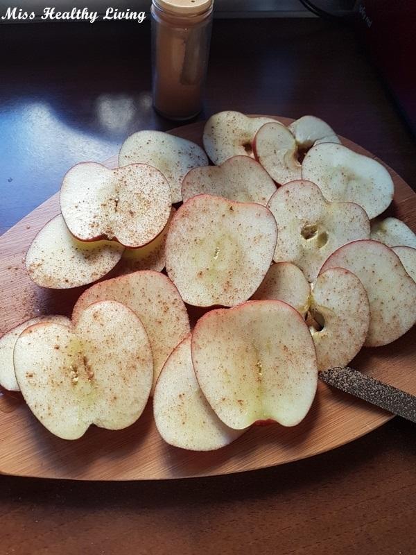 τσιπς μήλου με κανέλα
