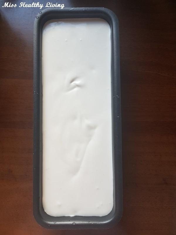 παγωτό βανίλια χωρίς ζάχαρη