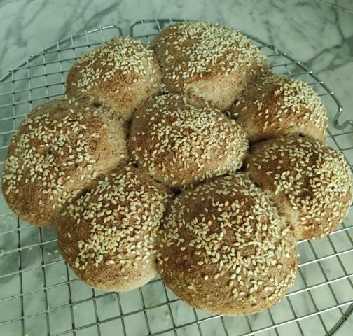 ψωμί μόνο με αλεύρι ολικής