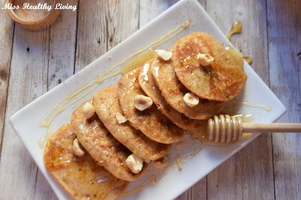 λουκουμάδες με μέλι, χωρίς ζάχαρη και τηγάνισμα